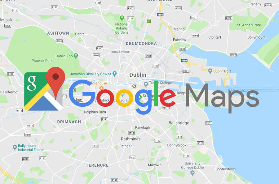 Map Of Ireland Ireland.Why Add Your Irish Business To Google Maps
